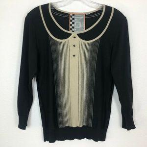 L.A.M.B. Pullover Cashmere Blend Sweater